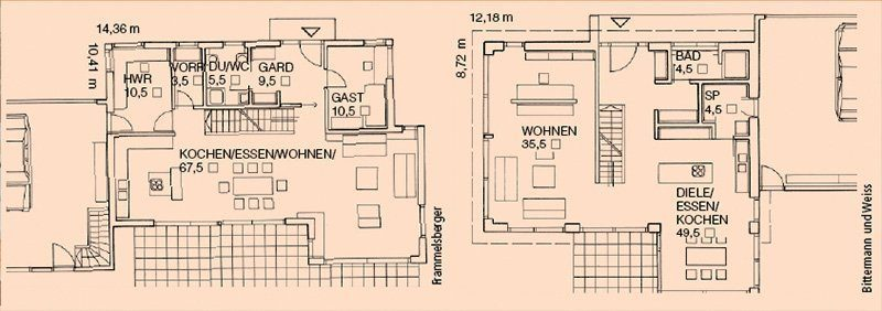 Grundriss-Planung