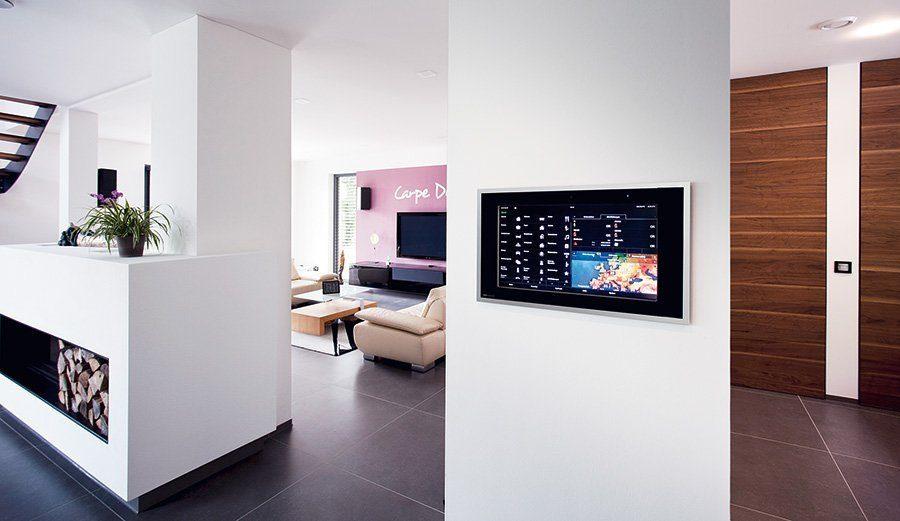 Smarthome-Technik im Haus