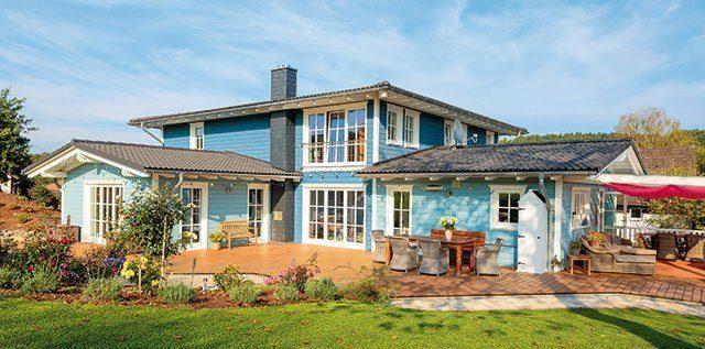 Gesundes Familienhaus für sieben Personen