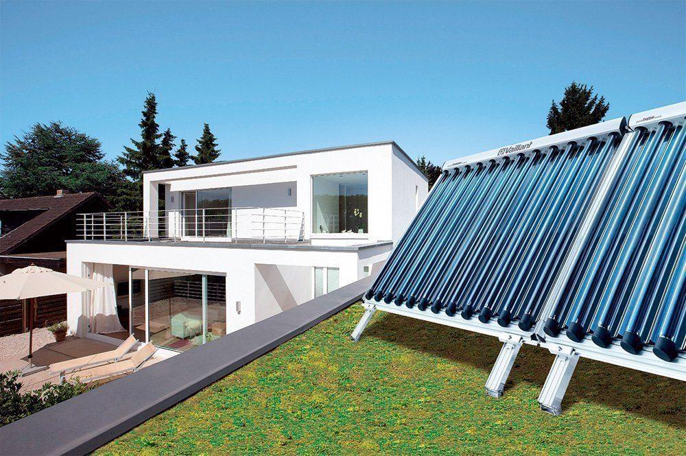 Energie mit Solarthermie
