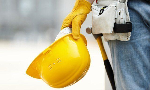 Werkzeug auf der Baustelle