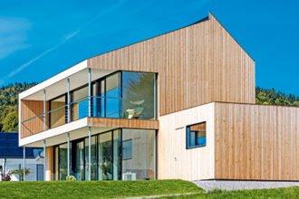 Bauen mit Holz und Glas