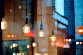 LED-Lampe für ihr Zuhause