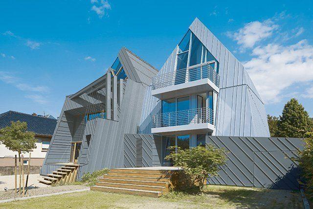 Fassadengestaltung Metall