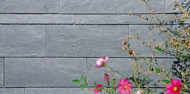 Fassadengestaltung Naturstein