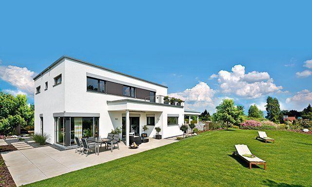 Haus Schwabach von Regnauer mit Flachdach
