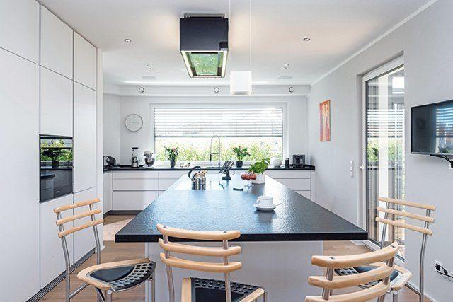 Küche Massivhaus
