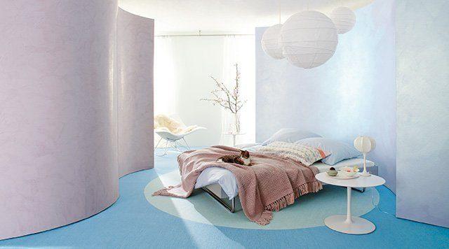 Schlafzimmer. Foto: Baumit
