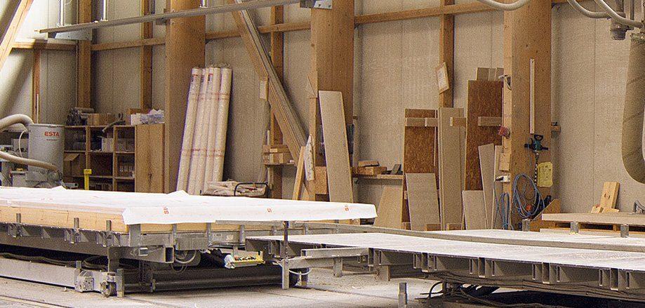 Bittermann & Weiss Produktionshalle