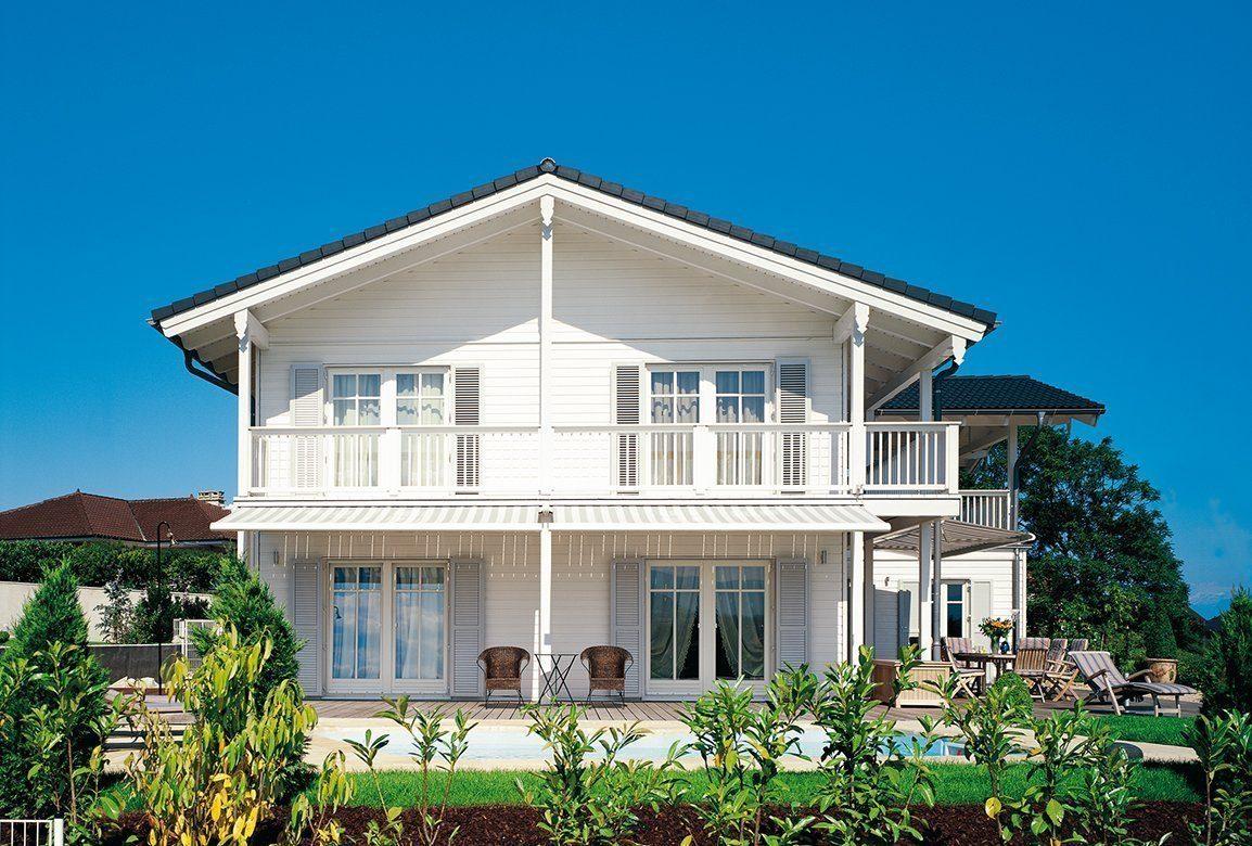 Vitalhaus Genf - Ein großes weißes Haus - Haus