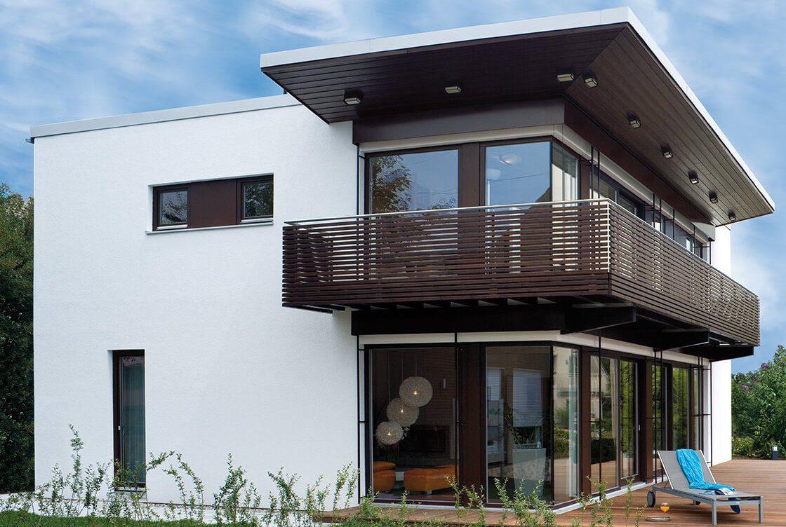 Musterhaus Fellbach - Ein Blick auf ein Haus - Mehrfamilienhaus