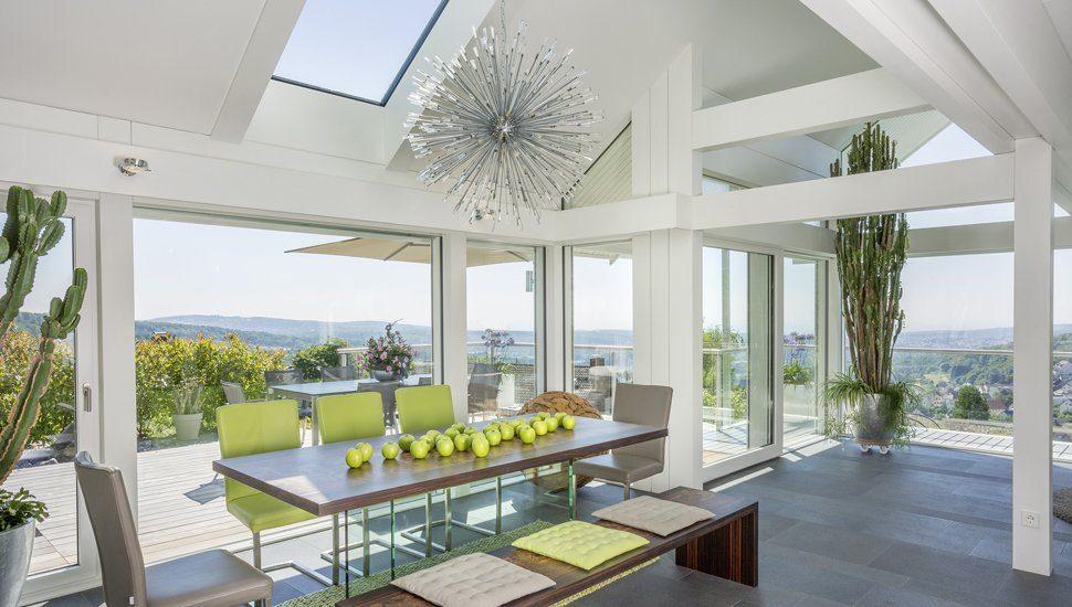 Huf Haus mit viel Glas