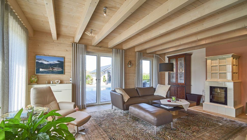 Holzhaus mit Wohlfühlambiente