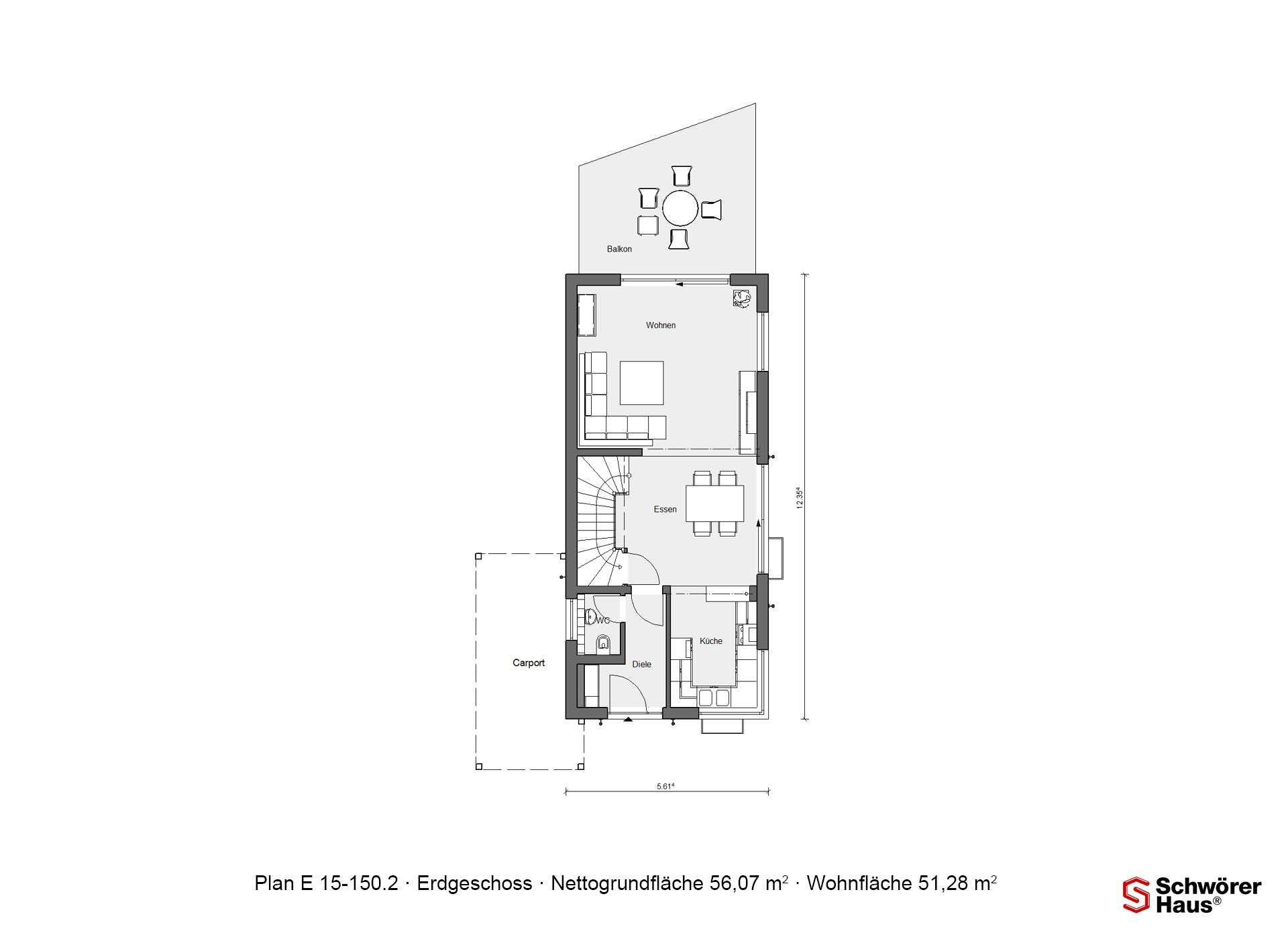 Plan E 15-125.1 - Ein Screenshot eines Handys - Gebäudeplan