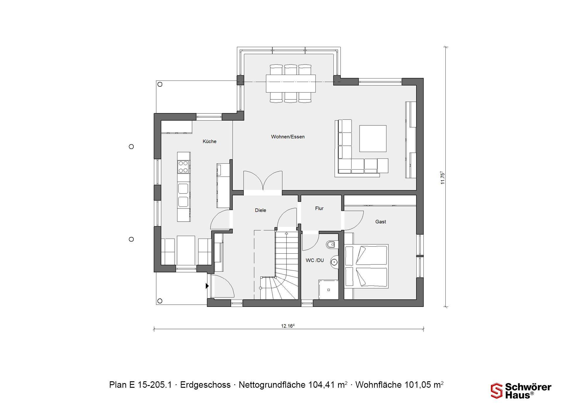 Plan E 15-193.1 - Ein Screenshot eines Videospiels - Gebäudeplan