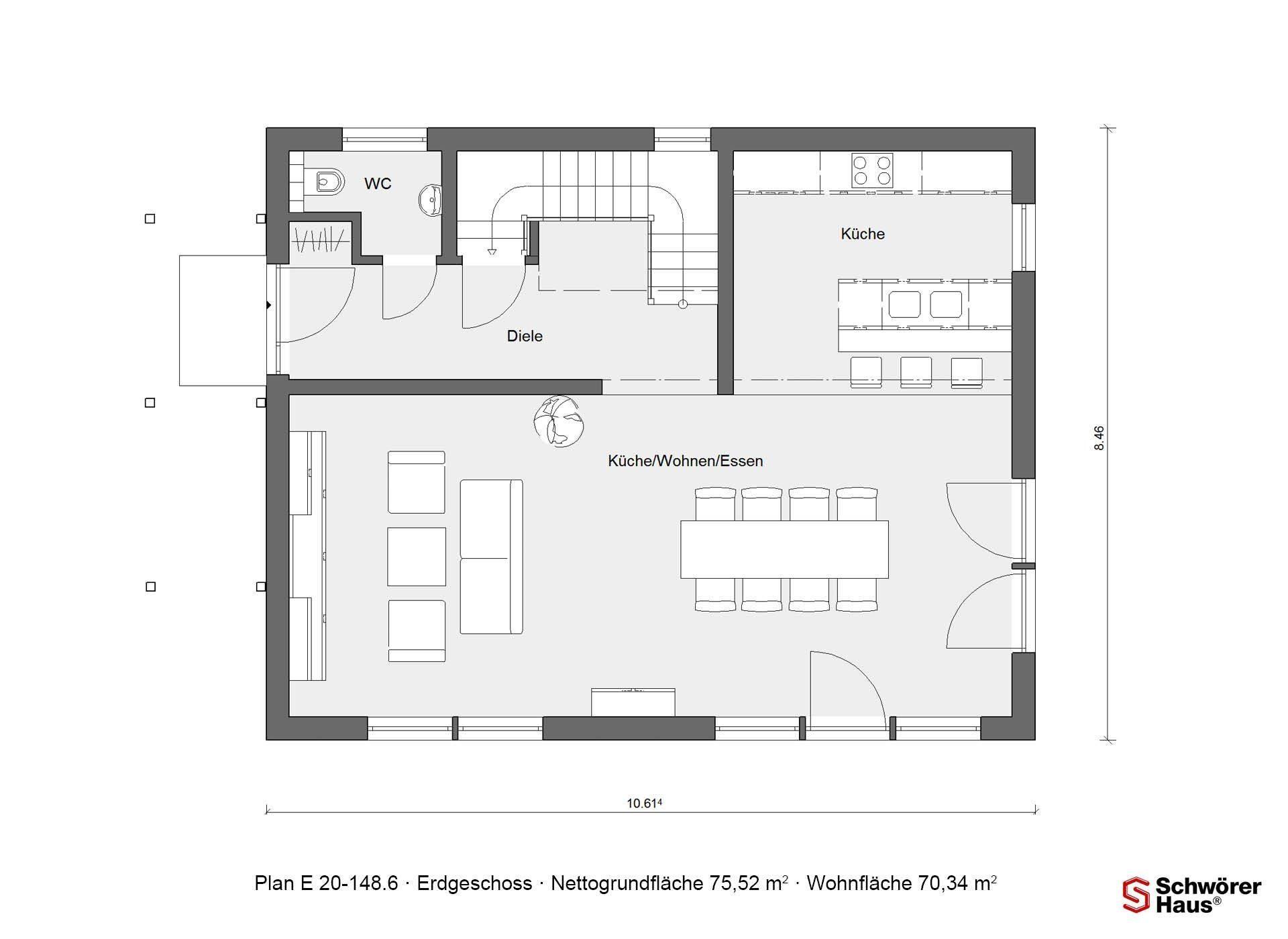 Plan E 20-137.1 - Ein Screenshot eines Videospiels - Gebäudeplan