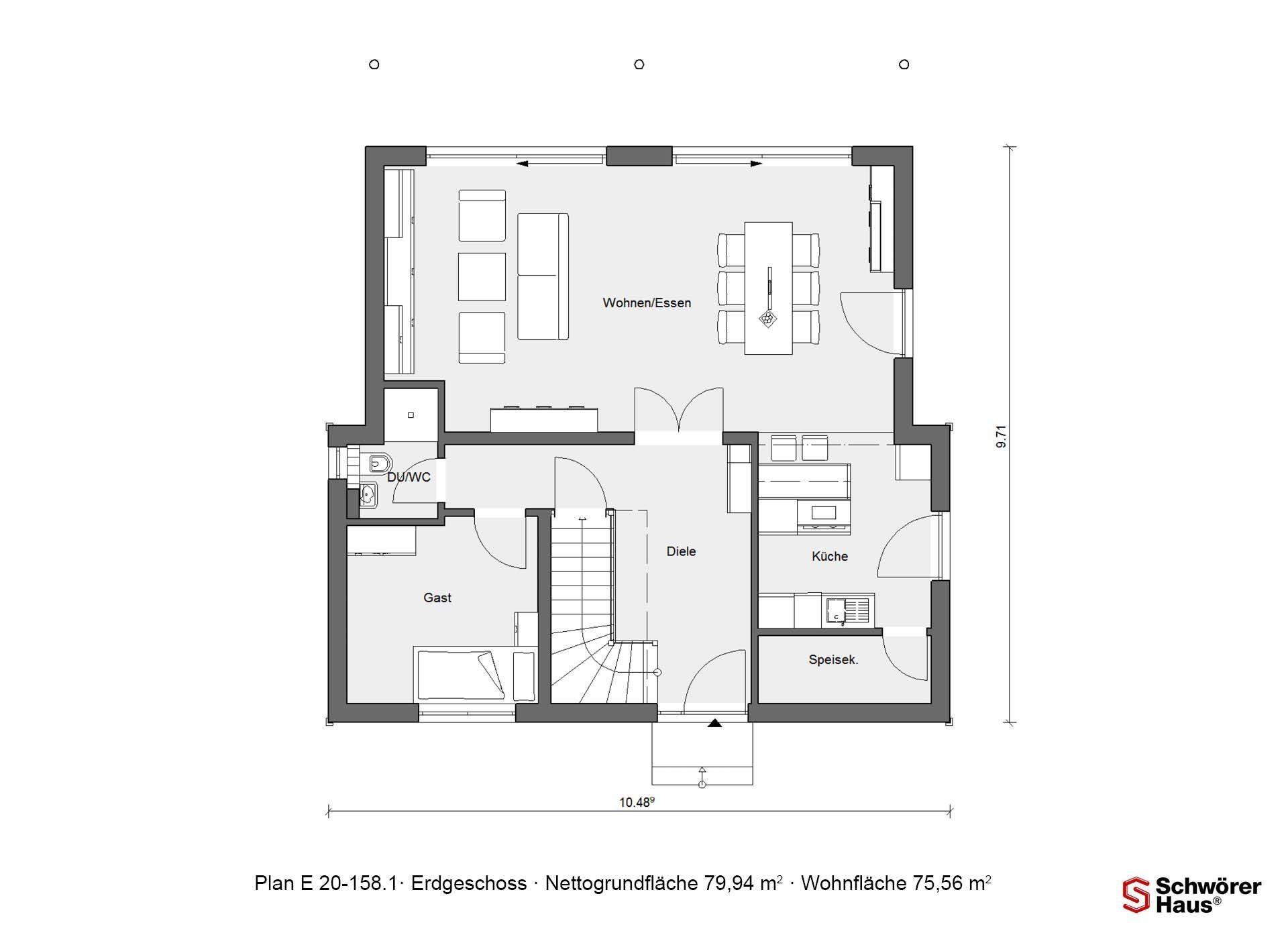 Plan E 15-156.1 - Eine Nahaufnahme von einem Logo - Gebäudeplan
