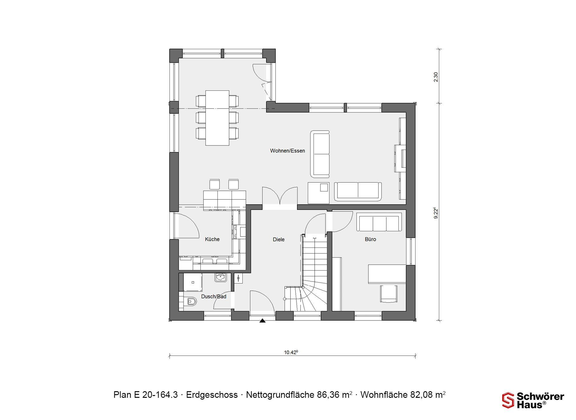 Plan E 15-160.1 - Ein Screenshot eines Handys - Gebäudeplan