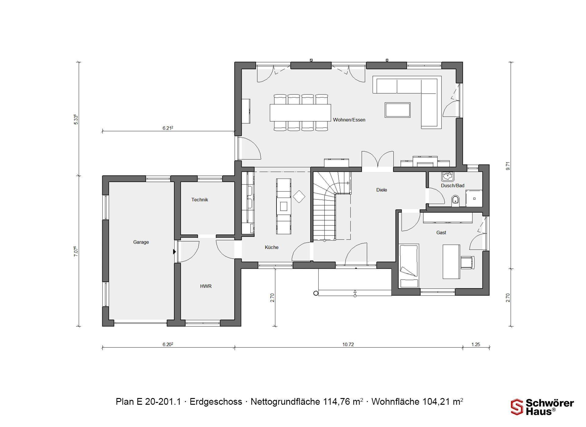 Plan E 20-182.1 - Eine Nahaufnahme eines Geräts - Gebäudeplan