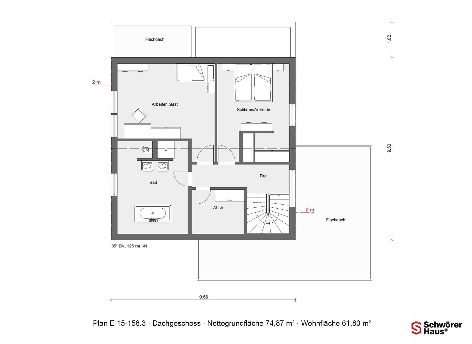 Kundenhaus Rimsa/Heck - Ein Screenshot eines Handys - Gebäudeplan