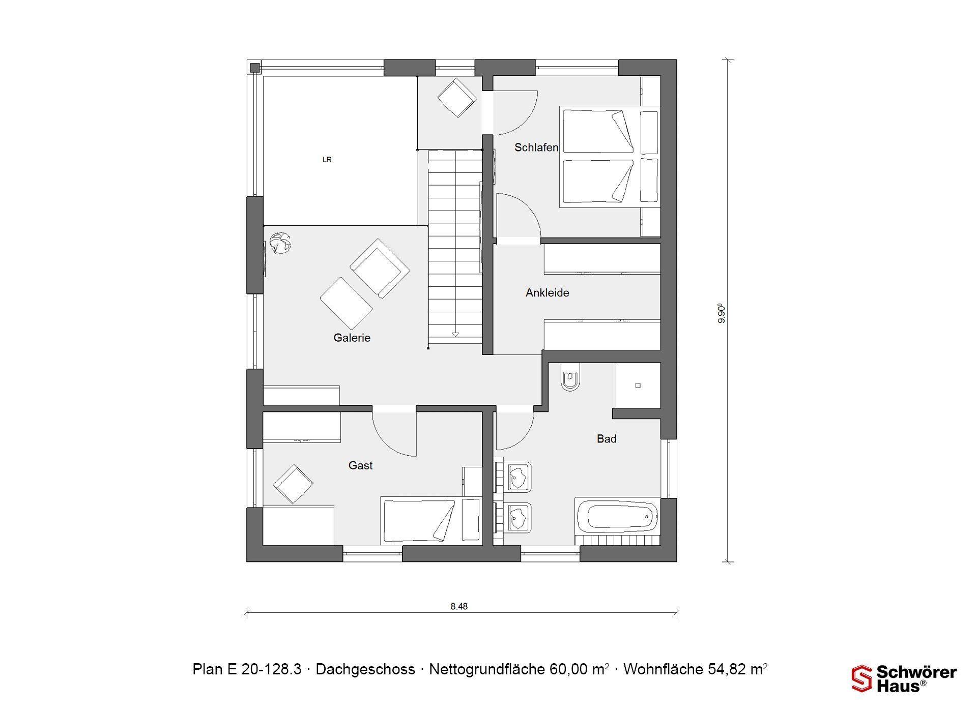 Haus Triebner - Eine Nahaufnahme eines Geräts - Gebäudeplan