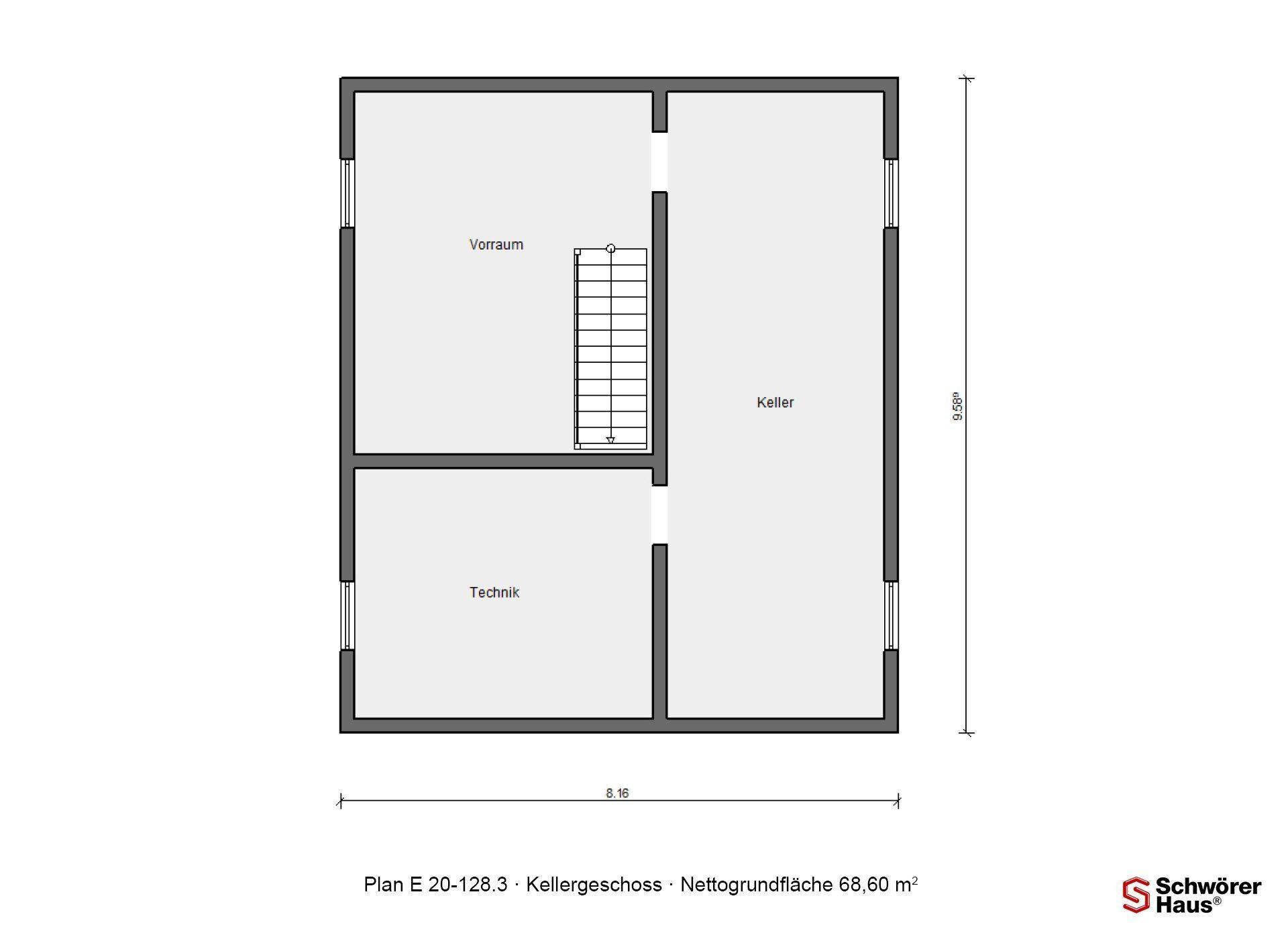 Haus Triebner - Ein Screenshot eines Videospiels - Gebäudeplan