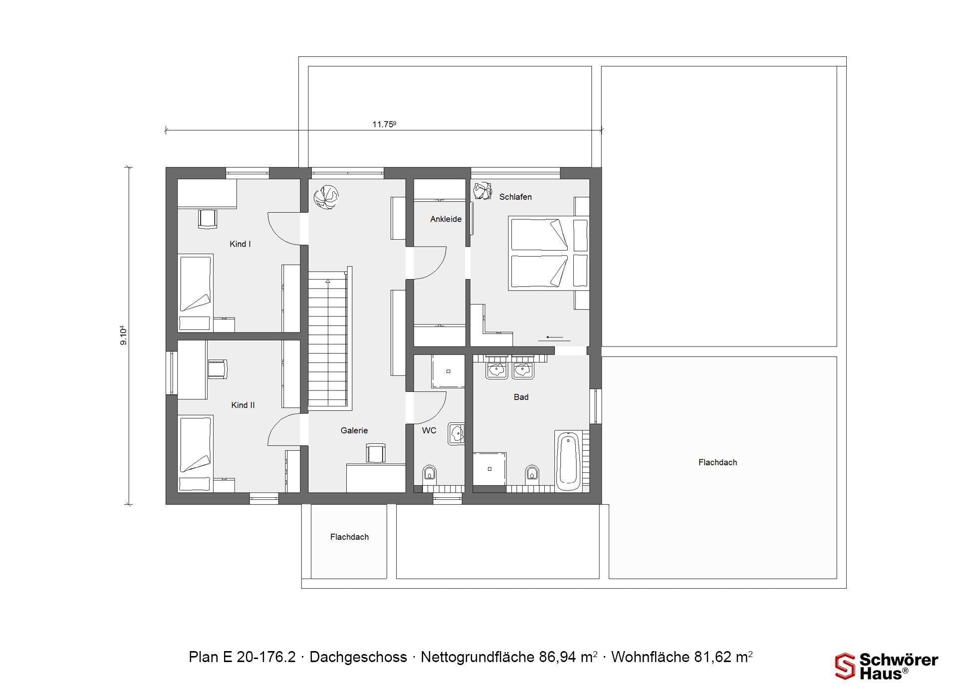 Plan E 20-167.1 - Eine Nahaufnahme einer Uhr - Gebäudeplan