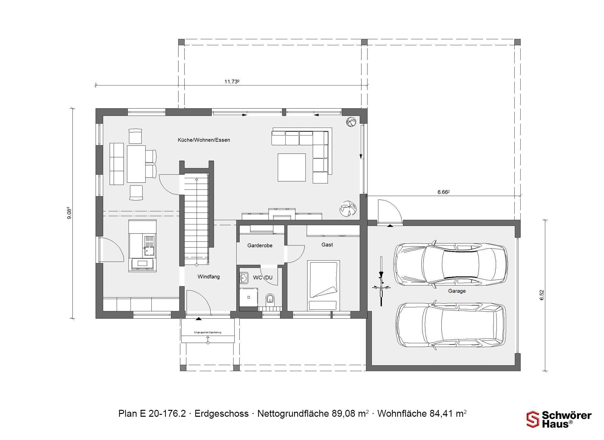 Plan E 20-167.1 - Eine Nahaufnahme von einer Karte - Gebäudeplan