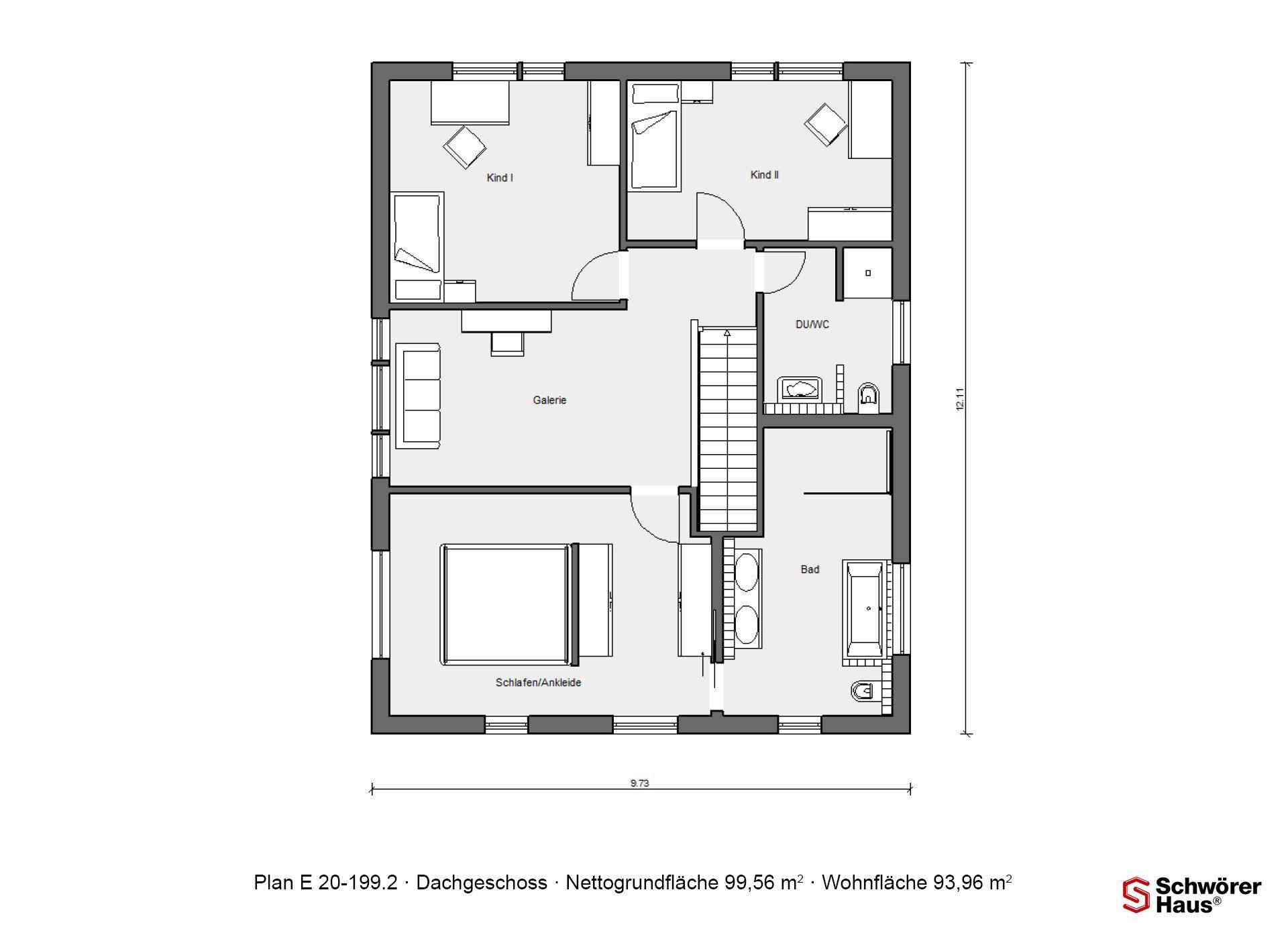 Schöner Wohnen Haus - Ein Screenshot eines Handys - Gebäudeplan