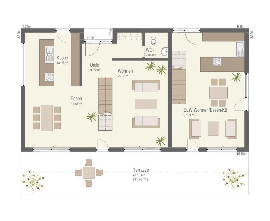 Ehrenbach - Gebäudeplan