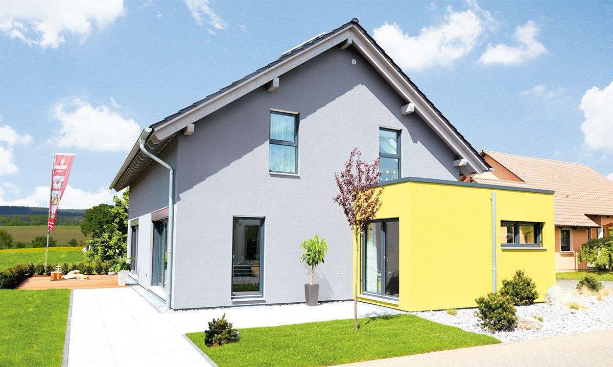 Musterhaus Koblenz - Ein schild vor einem haus - Haus