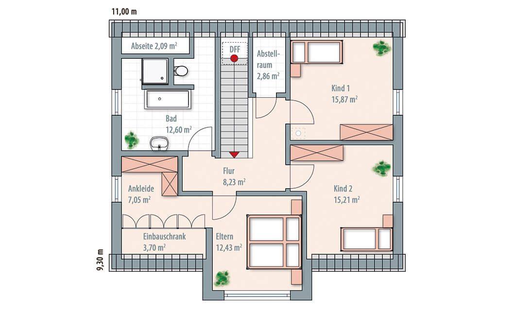 Edition 168 - Eine Nahaufnahme von einer Karte - Gebäudeplan