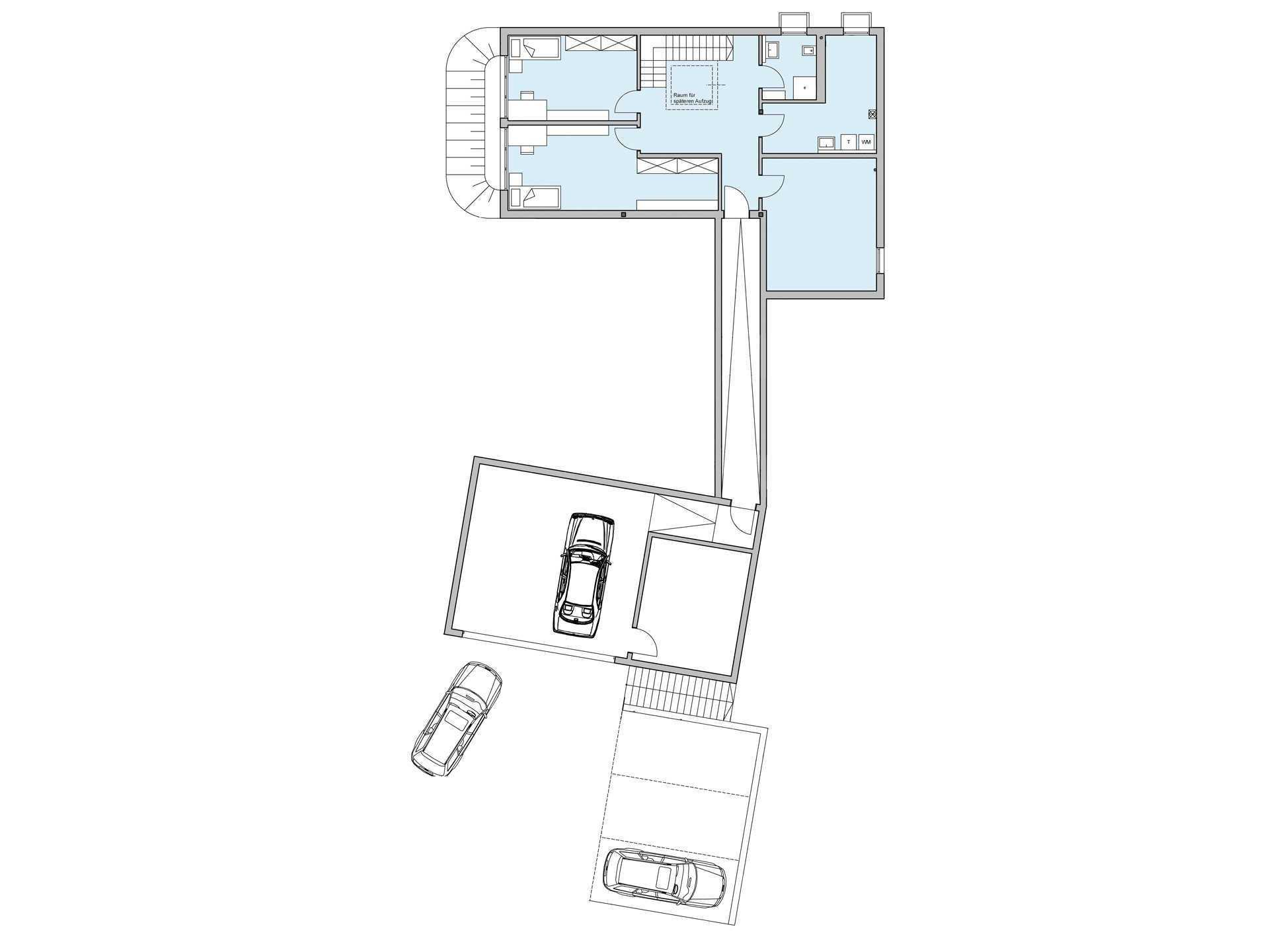 Stadtvilla Riederle - Eine Nahaufnahme eines Geräts - Gebäudeplan
