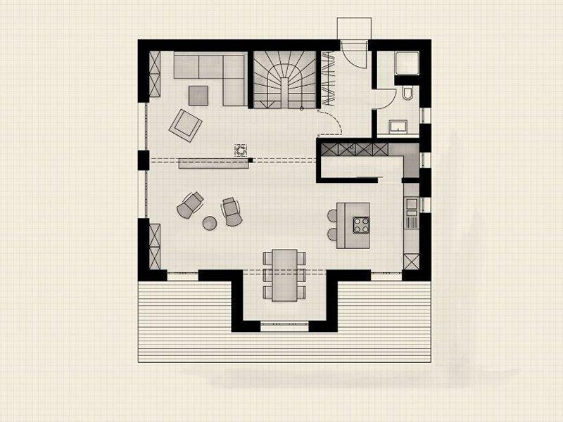 Raumwunder - Ein Screenshot eines Videospiels - Gebäudeplan