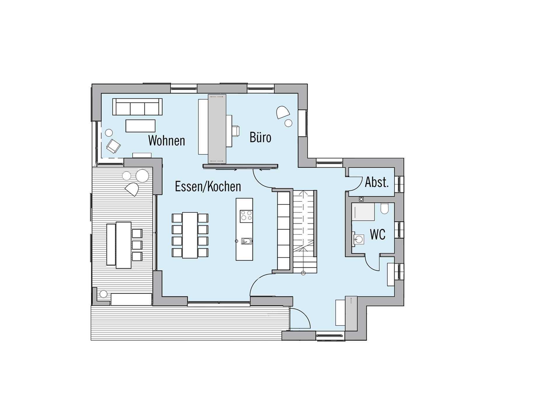 Naturdesign - Eine Nahaufnahme eines Geräts - Gebäudeplan