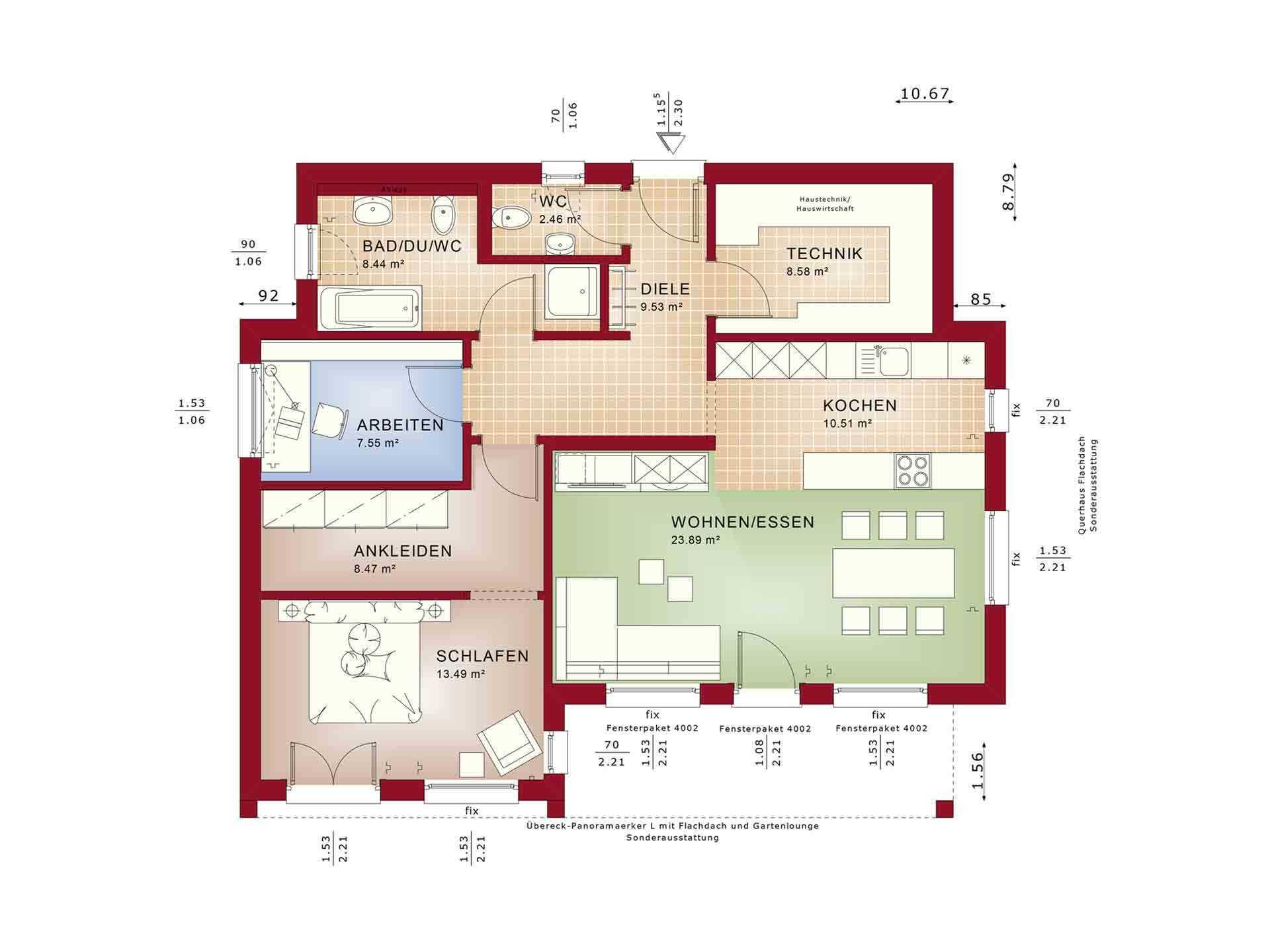 Ambience 77 v4 - Ein Screenshot eines Handys - Haus-Plan