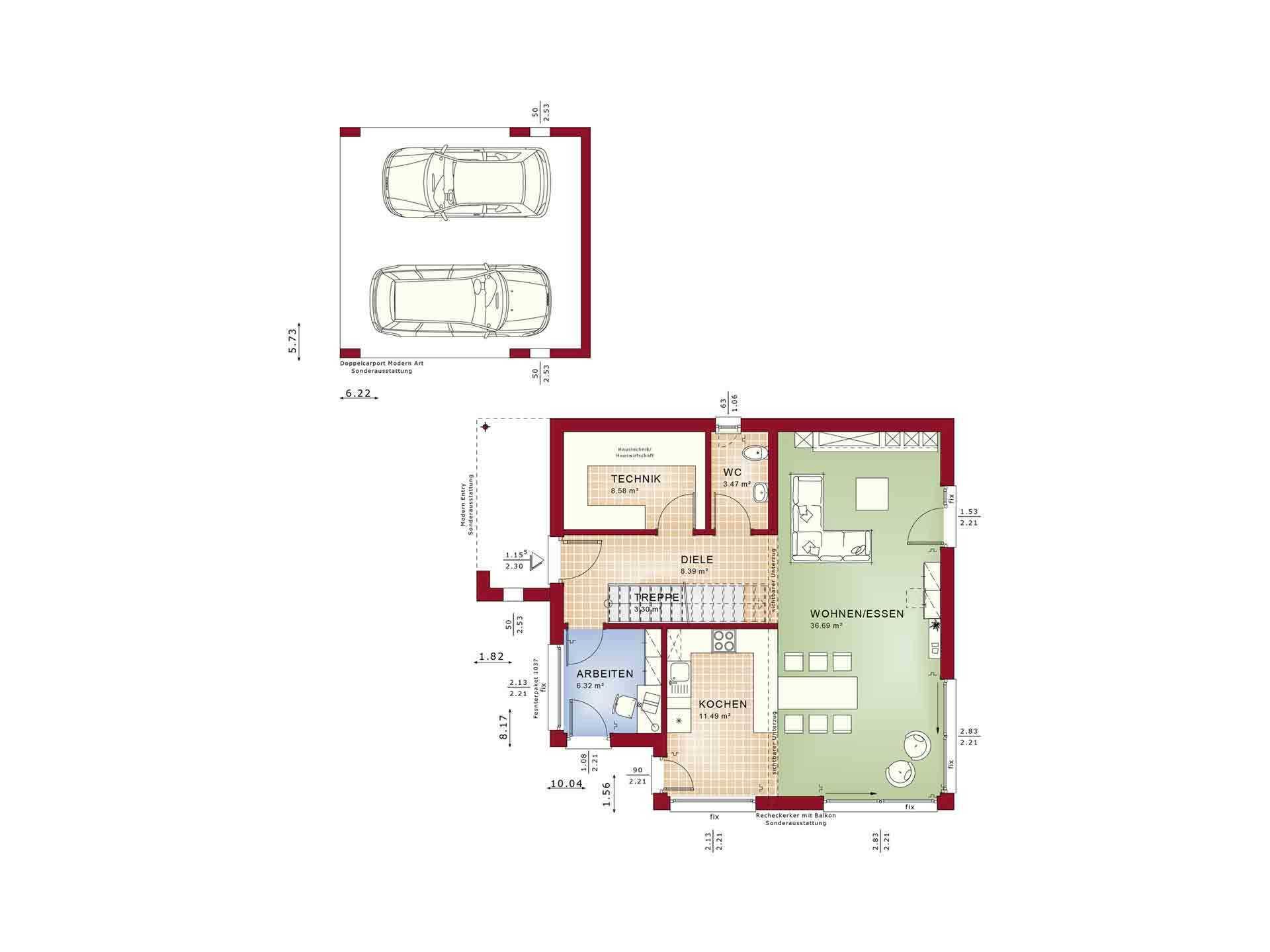 Evolution 134 v8 - Eine nahaufnahme von text auf einem weißen hintergrund - Gebäudeplan