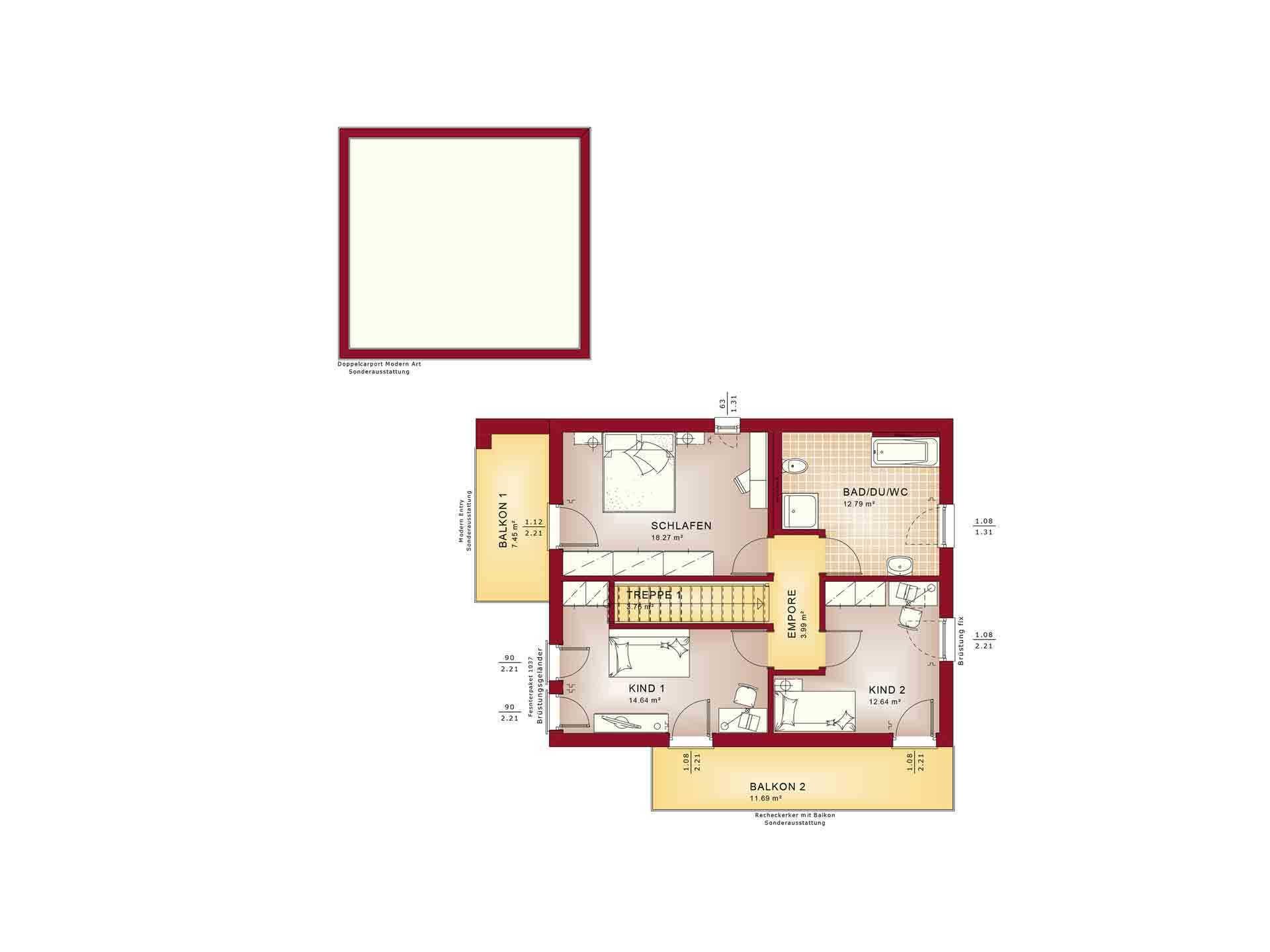 Evolution 134 v8 - Eine Nahaufnahme von einem Logo - Gebäudeplan