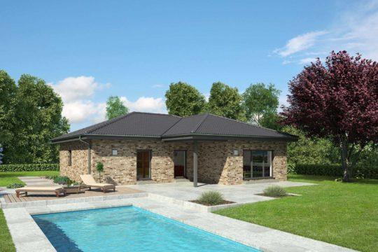 Bungalow Calvados - Ein kleines haus in einem pool - Bungalow