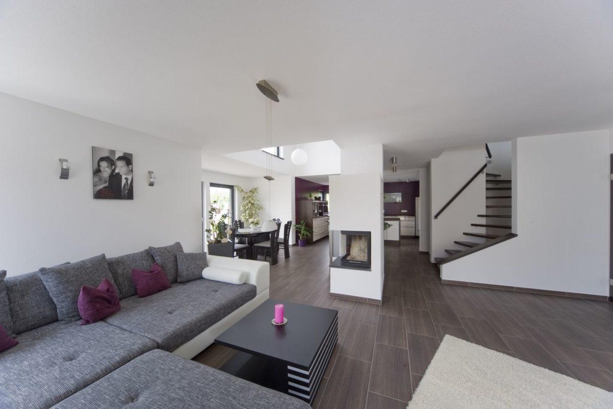 Stadtvilla Mehnert - Ein Wohnzimmer - Haus