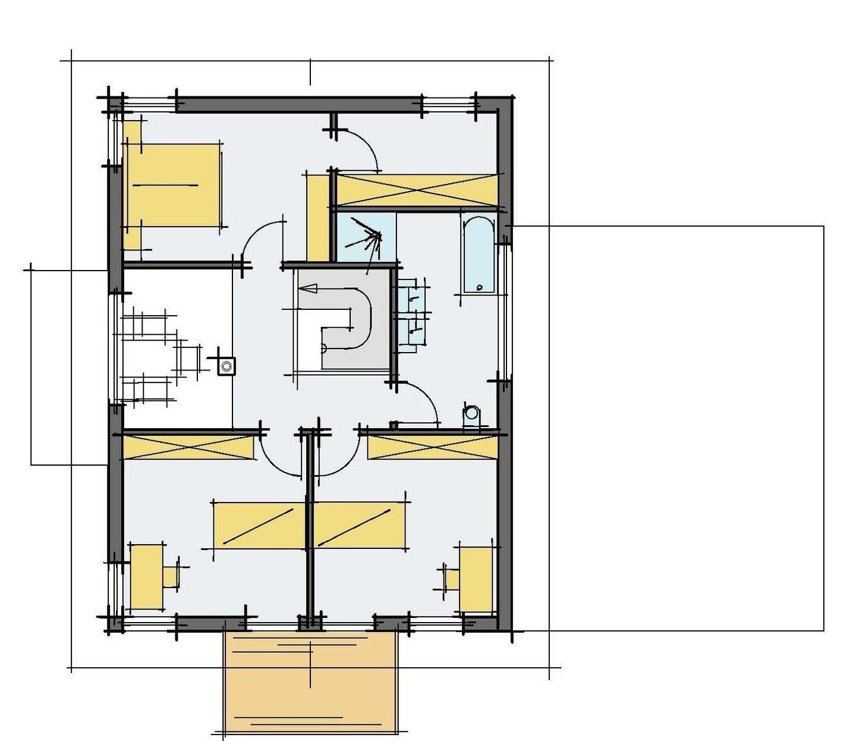 Stadtvilla Mehnert - Eine Nahaufnahme von einer Karte - Design