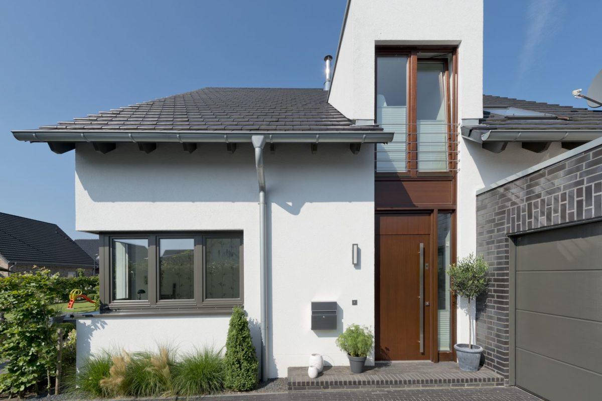 Haus Charkowski - Das Dach eines Hauses - Haus