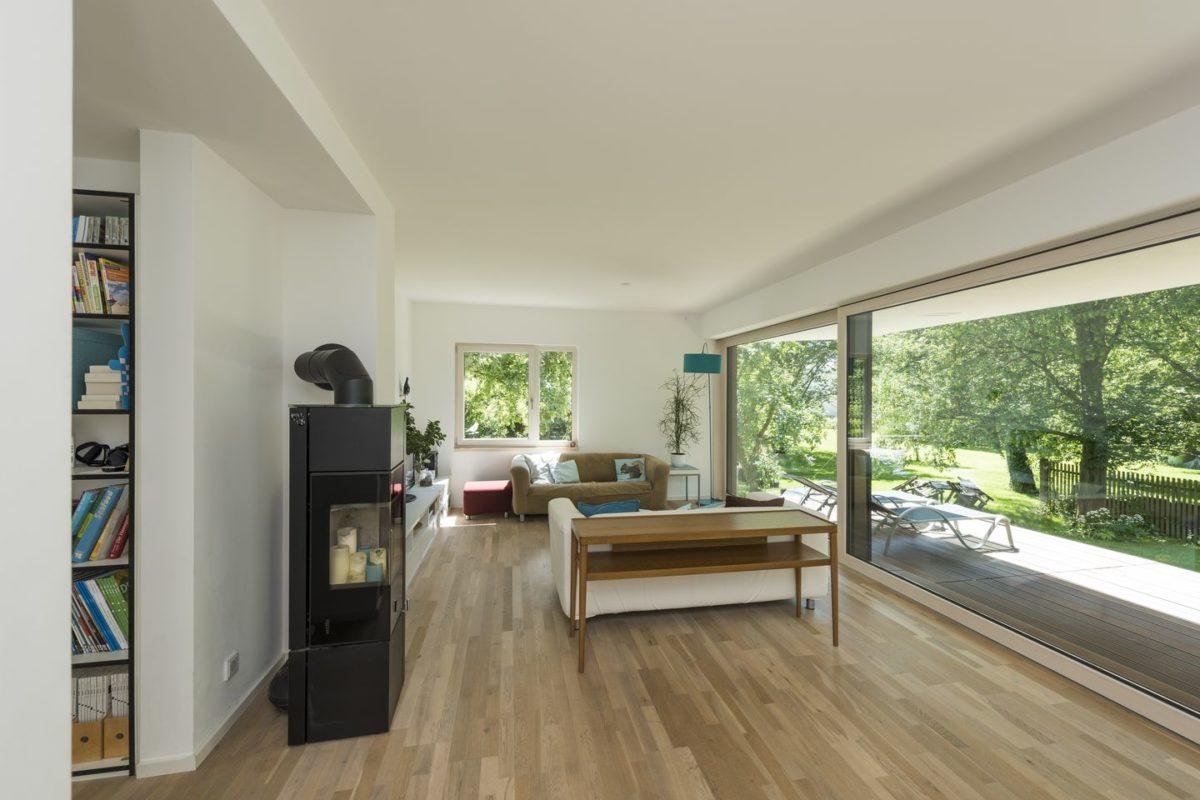 Haus Herold - Eine Ansicht eines Wohnzimmers - Haus