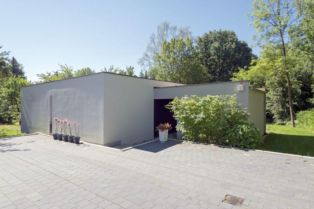 Haus Herold - Die Außenseite eines Gebäudes - Haus