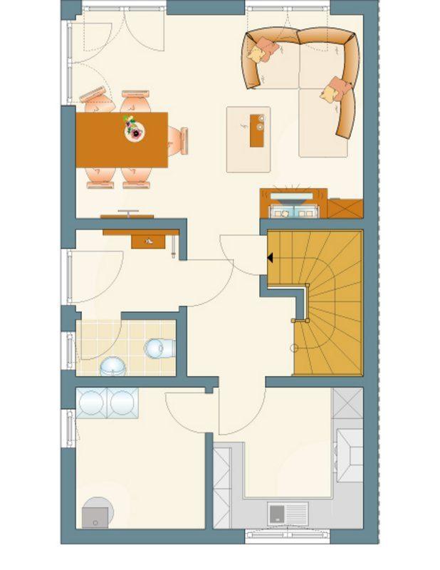 DUO 155 - Eine Nahaufnahme von einer Karte - Duplex