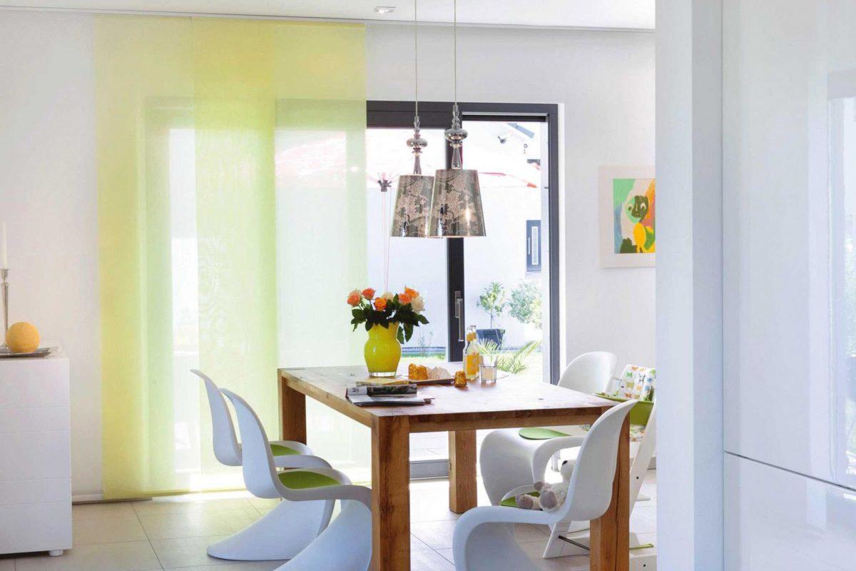 Plan E 15-146.1 - Ein Raum voller Möbel und ein großes Fenster - Fertighaus