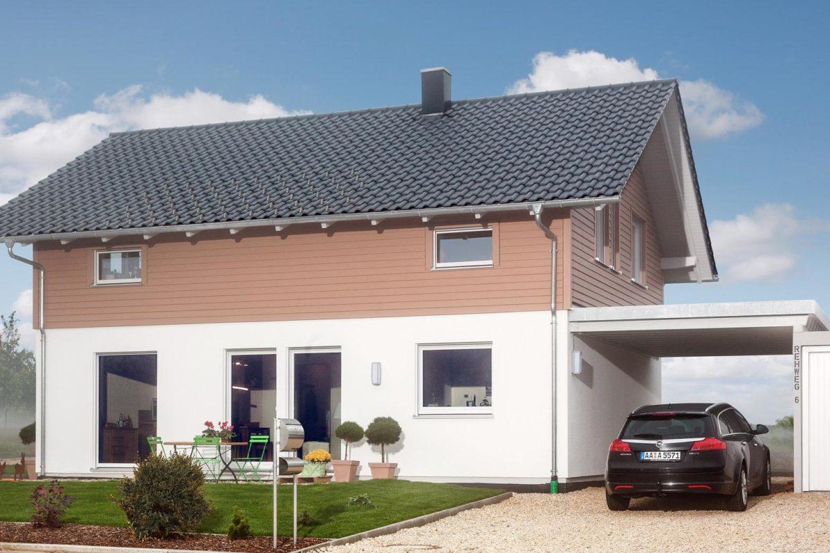 Haus Noller - Ein Auto vor einem Haus geparkt - Haus
