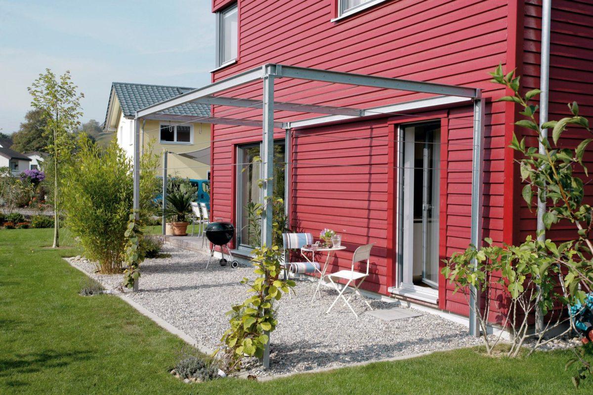 Plan E 20-137.1 - Ein Garten vor einem Haus - SchworerHaus KG