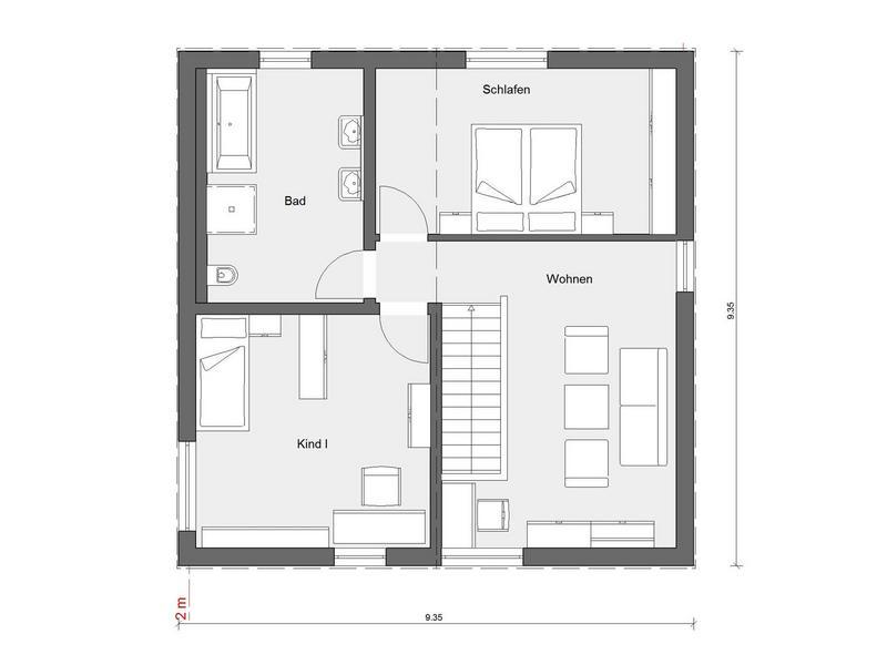 Musterhaus Mono - Eine Nahaufnahme eines Geräts - Haus