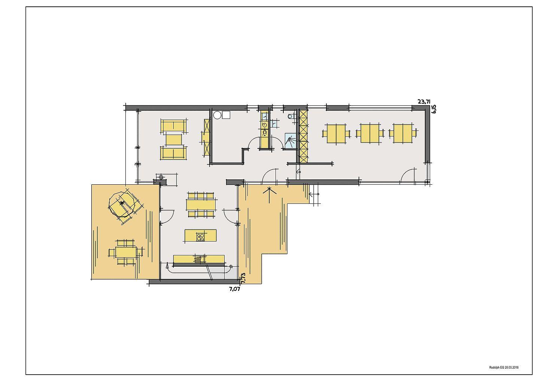 Haus Peters - Ein Screenshot eines Videospiels - Gebäudeplan